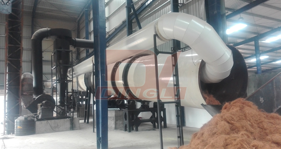 Coconut Fiber Drying Production Line