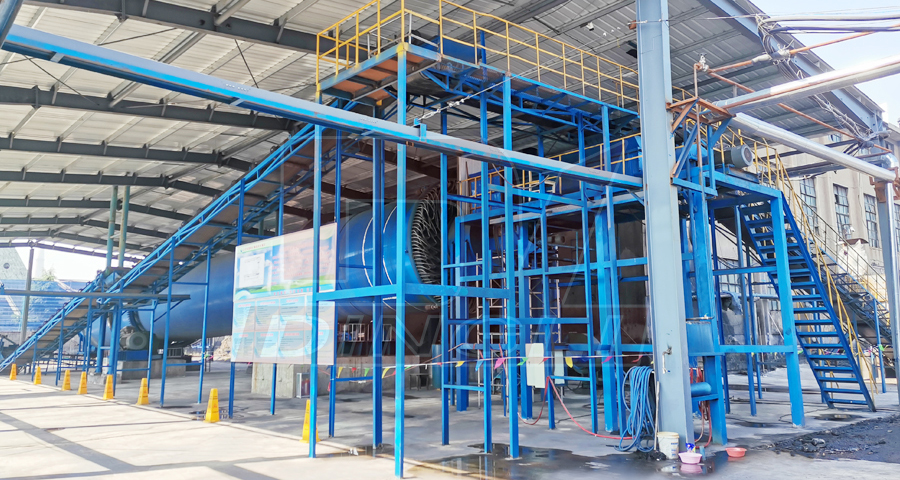 Xintai steam type slime drying site