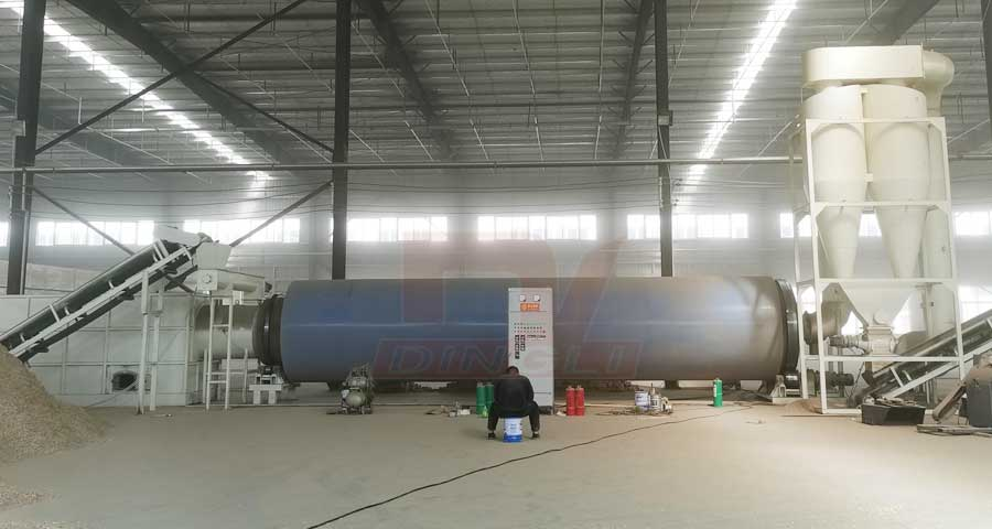 Henan Yuanyang Sawdust Dryer Production Site