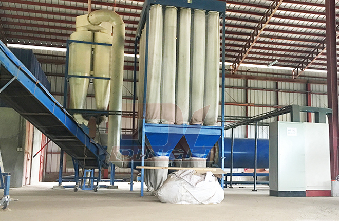 Straw Drying Production Line2