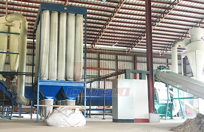 Straw Drying Production Line1