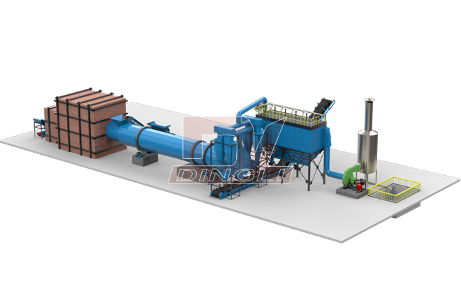 Peat Rotary Drum Dryer3