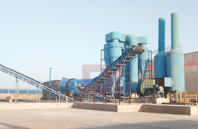 Peat Rotary Drum Dryer2