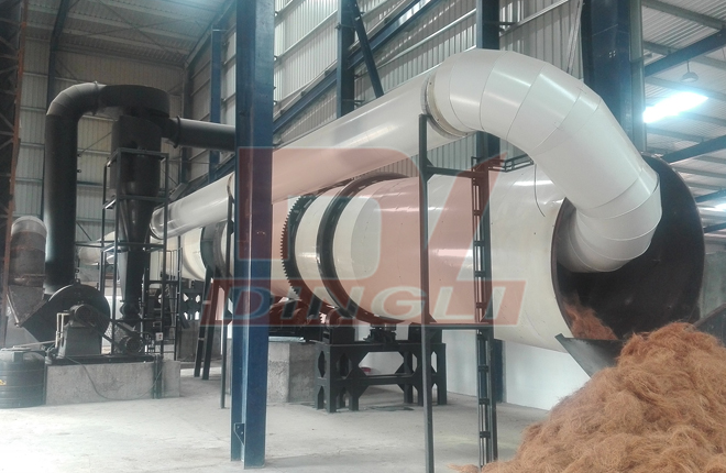 Coconut Fiber Dryer Machine2