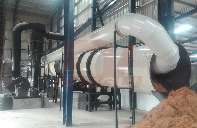 Palm Fiber Drying Machine