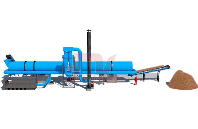 Coconut Fiber Dryer Machine3