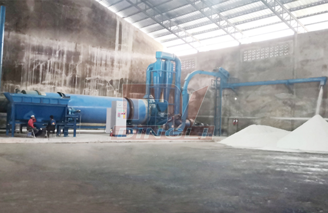 Coconut & Palm Slag Rotary Dryer