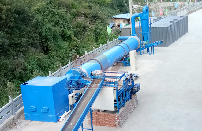 Special Dryer For Cassava Pulp And Potato Residue2