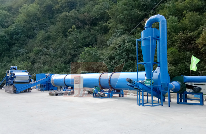 Special Dryer For Cassava Pulp And Potato Residue1