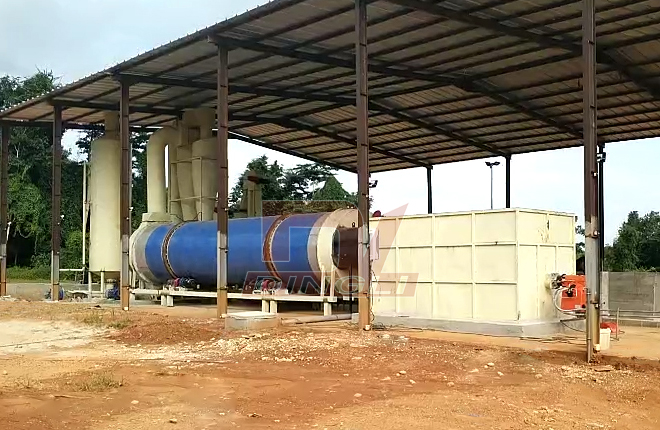 Cow Dung Rotary Dryer2