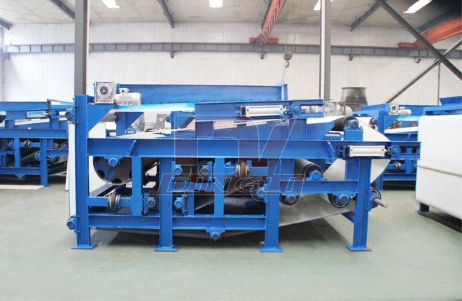 Spent Grain Belt Dewatering Machine3